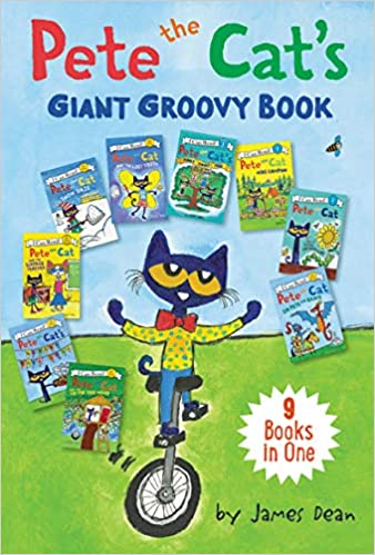 Descargar Epub Gratis Pete The Cat's Giant Groovy Book: 9 Books In One