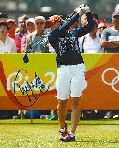 Charley Hull Signed Photo - 8x10 RIO OLYMPICS GREAT BRITAIN COA B - Autographed Golf Photos