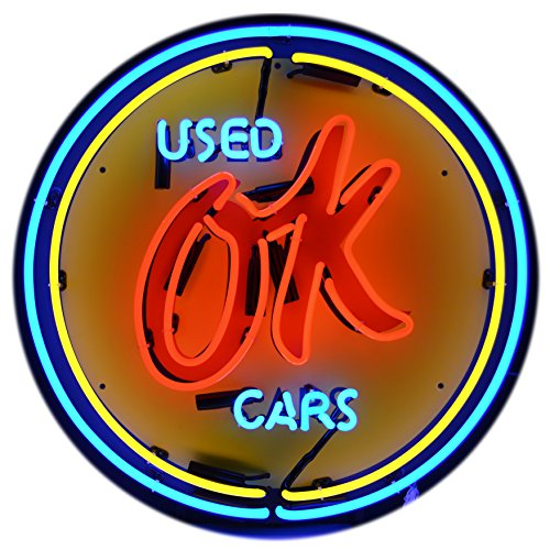 Neonetics 5CHVOK Cars and Motorcycles Chevy Vintage Ok Used Cars Neon Sign, 4