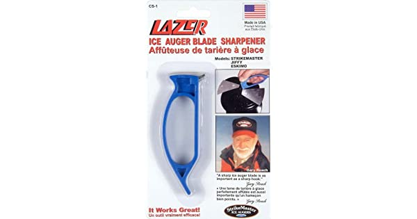 Amazon.com: Afilador de barrena de hielo de Strike Master ...