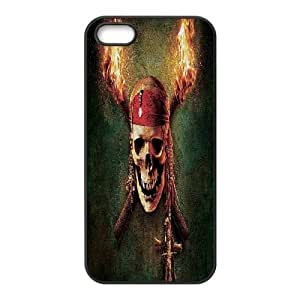 DDOUGS Pirates of the Caribbean Customized Cell Phone Case for Iphone 5,5S, Personalised Pirates of the Caribbean Case