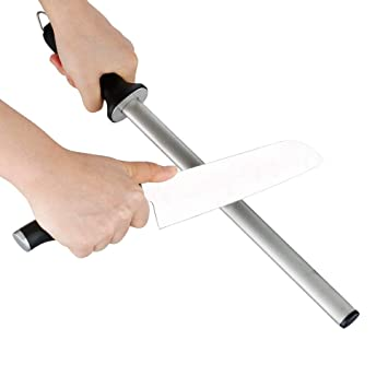 L.WJ Diamond Sharpening Rod, Afilador De Cuchillos Manual ...