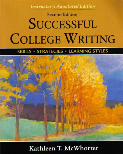 Successful College Writing Skills - Strategies - Learning Styles