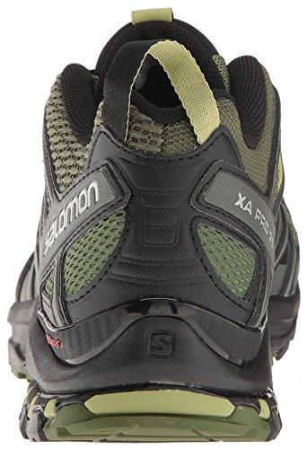 Salomon Mens Xa Pro 3d Scarpe Da Corsa Trail Chive / Nero / Beluga