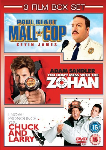 Amazon Com Paul Blart Mall Cop You Don T Mess With The Zohan I Now Pronounce You Chuck And Larry Dvd Movies Tv