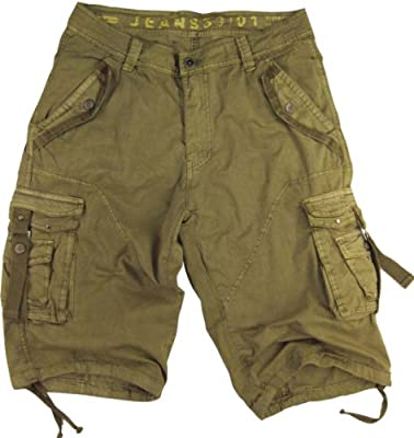 Mens Cargo Pocket Shorts Military-Style Size:30-54 #A8s
