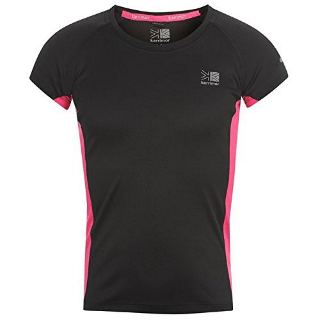 Karrimor Kids Short Sleeved Running T Shirt Juniors Boys Breathable Jogging New