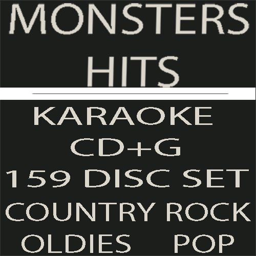 Savvy Savers 2700 SONG SUPER COLLECTION Karaoke CD+G SET - Monster Hits 159 Disc Classic Rock, Pop,Country,Oldies+ OVER 2700 Professional Karaoke Songs
