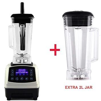 WLIXZ Máquina exprimidora, exprimidor en frío con Motor silencioso de 2200 vatios, exprimidor fácil