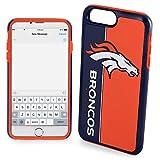 Forever Collectibles iPhone 8+/7+ Dual Hybrid Bold Case - NFL Denver Broncos
