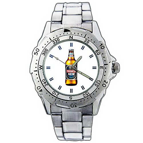 mens-wristwatches-pe01-1294-tooheys-new-draught-beer-bottle-stainless-steel-wrist-watch