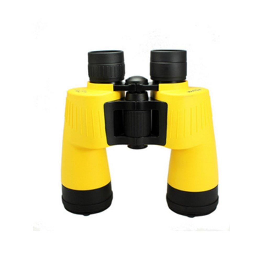 高 - 定義双眼鏡高 - 定義双眼鏡ナイトビジョン10x50ナイトビジョンアダルト屋外防水 B07CZT3Z86 10x50 Yellow 10x50 Yellow