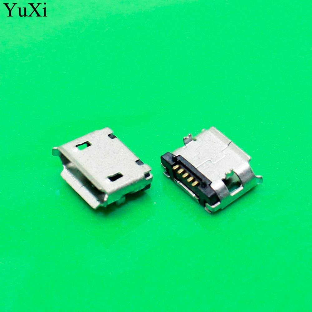 Computer Cables Yoton Micro USB 5P 5-pin Micro USB Jack 5Pins Micro USB Connector Tail Charging Socket 5pin Cable Length: Other