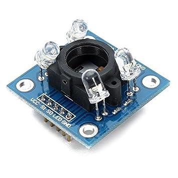 DollaTek TCS230 TCS3200 Detector Módulo GY-31 Sensor de Reconocimiento de Color para Arduino: Amazon.es: Electrónica