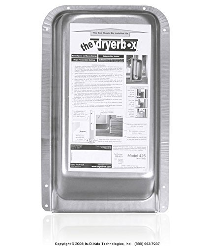 The Dryer Box 425 Recessed Dryer Vent Box (# DB-425, DB425, 10-2000)