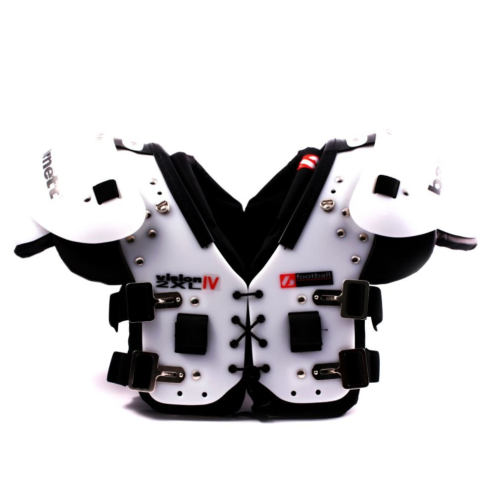 Barnett Shoulderpad VISION IV American Football Shoulder pad Schulterschutz sehr leicht