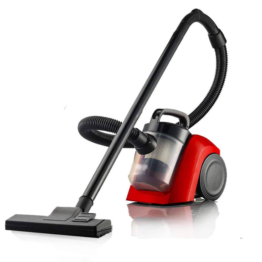 掃除機 掃除機、バッグレス掃除機(1000W、強力吸引、複数サイクロンろ過、5Mクリーニング半径)赤 (Color : Red, Edition : A) B07SWTVX85 Red A