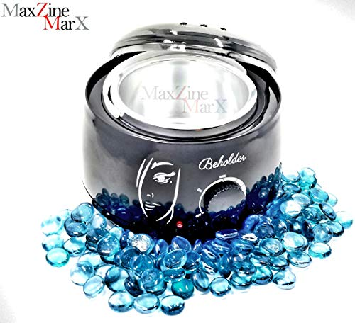 Beholder Premium Wax Warmer Hair Removal Wax Melting System Great for Business and Home use ~Waxing of All Body, Face, Bikini Area, Legs~
