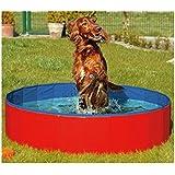 FurryFriends Foldable Dog Pool - Folding Dog / Cat Bath Tub - Collapsible Pet Spa Whelping Box Christmas Gift