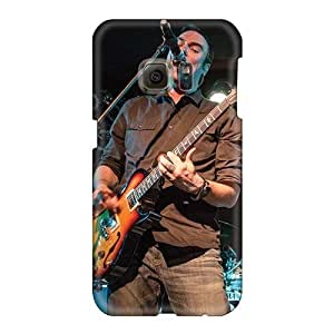 Samsung Galaxy S6 DTE7601NyTF Custom Realistic Breaking Benjamin Band Pictures Shock Absorbent Hard Phone Case -JasonPelletier