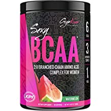 Gym Vixen Sexy BCAA (Watermelon) 30 Servings - BCAA Complex For Women - High Quality, Pure 2:1:1 Branched Chain Amino Acid