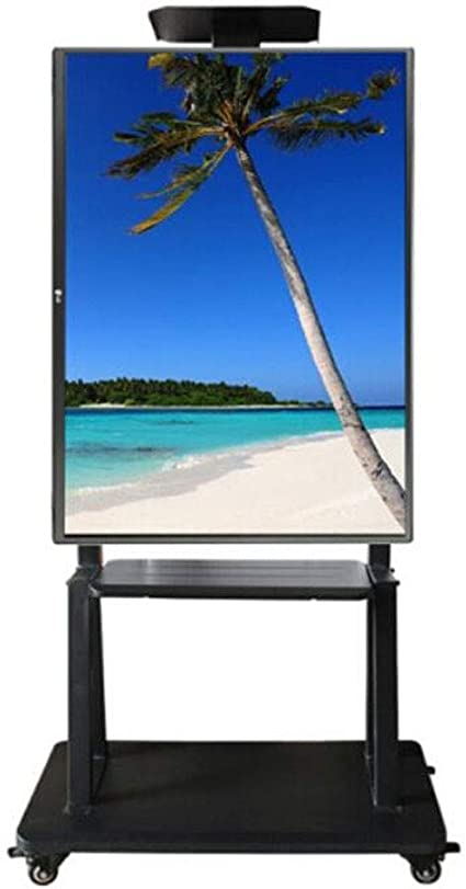 Mobile Tv Cart 32 55 Inch Lcd Tv Mobile Stand Floor Stand Cart Horizontal Screen Vertical Screen Installation For Home Office Living Room Amazon Co Uk Kitchen Home