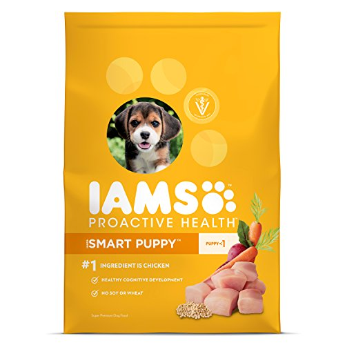 Iams Food Coupons - Iams ProActive Health Smart Puppy Dog Food – Chicken, 3.3 Pound Bag