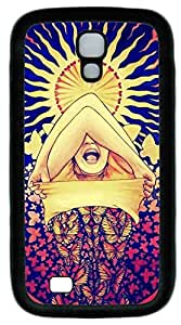 Galaxy S4 Case, Personalized Protective Soft Rubber TPU Black Edge Beauty Pic Case Cover for Samsung Galaxy S4 I9500