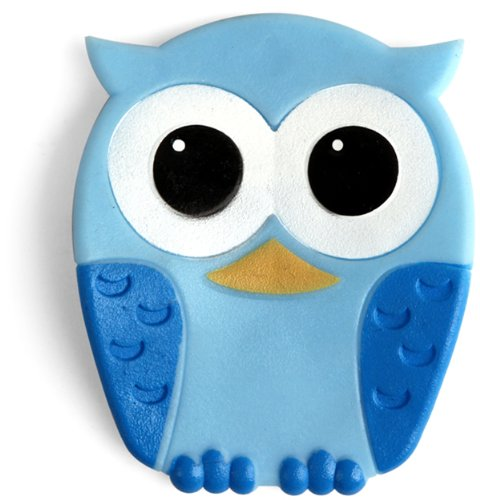 Kikkerland Baby Owl Tub Treads, Set of 5