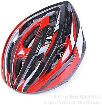 TKWMDZH® Cascos de bicicleta Merida casco equitación no integrada ...