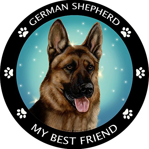 Fur Shepherd - German Shepherd My Best Friend Magnet
