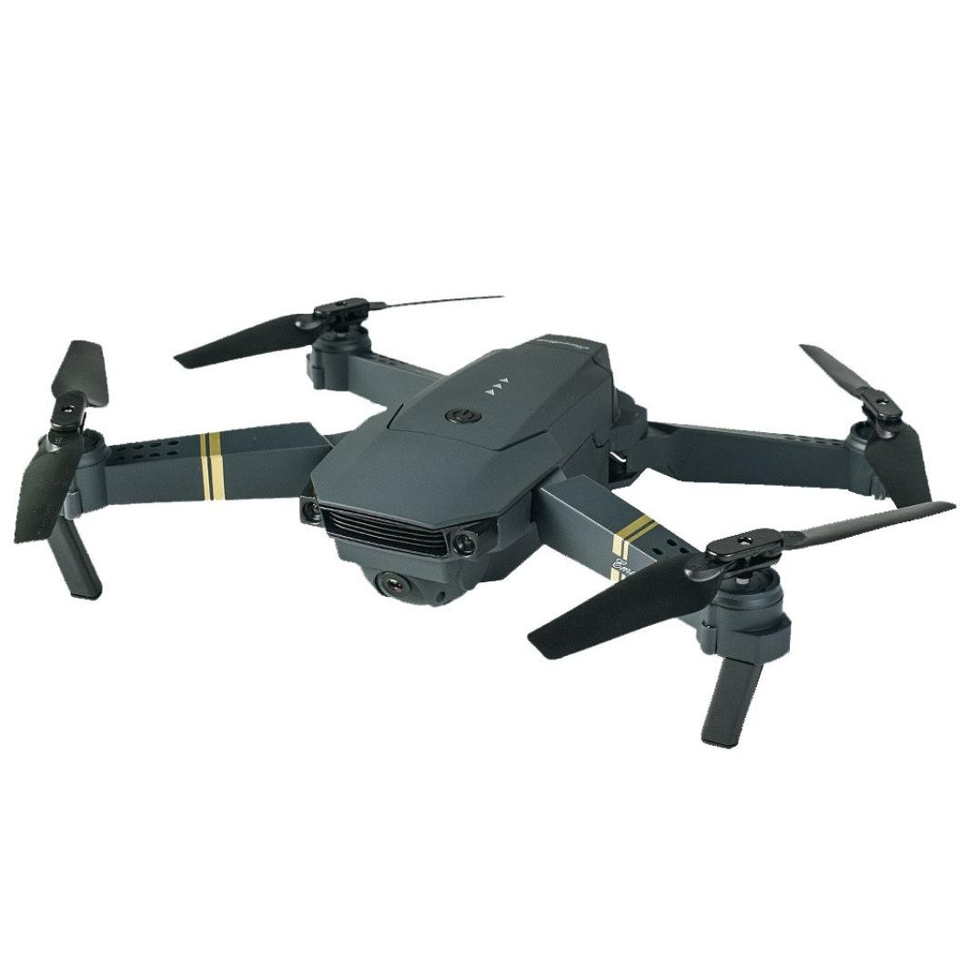 Prevently Quadrocopter Drohne faltbar L800 2.4G HD Kamera Live Übertragung und langere Flugzeit WIFI FPV faltbare Selfie Drone RC Quadcopter RTF (Schwarz)