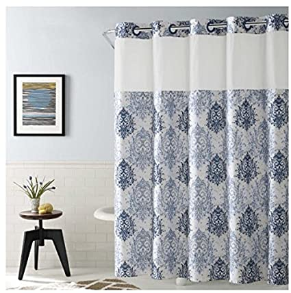Ikat Shower Curtain 71quot
