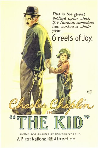 (11x17) The Kid Movie Charlie Chaplin Poster (Chaplin Movie Poster)