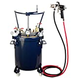 Kastor 20ltr Pressure Tank with Air Regulator Paint Pot Spray Gun 2,0mm + AGITATOR