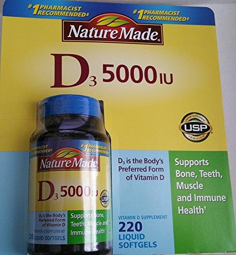 Nature Made Gel Cap Vitamin