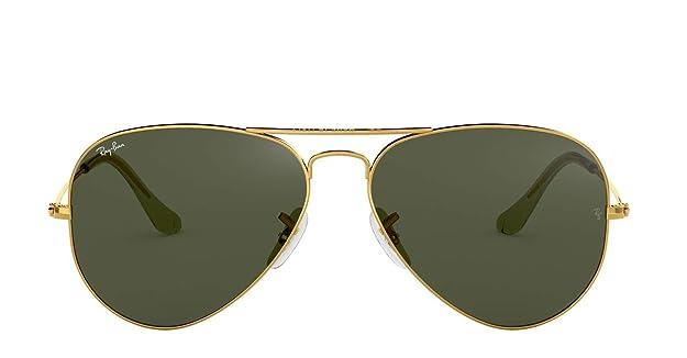Amazon.com: Ray-Ban RB3025 Aviator anteojos de sol, 58 MM: Shoes