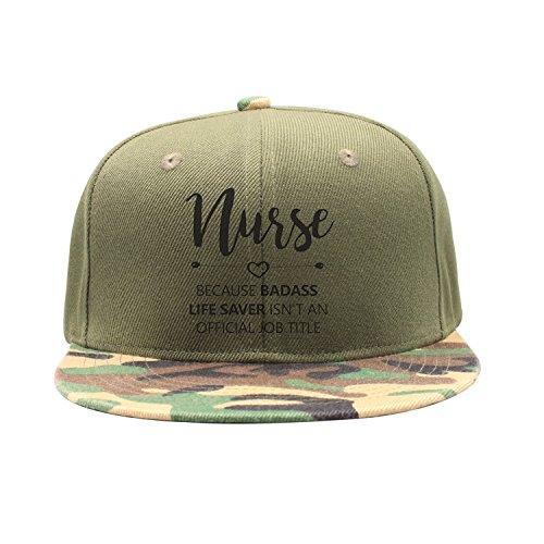 Shoesone Badass Life Saver Official Job Unisex Camouflage Baseball Caps Personalized Hats (Lifesavers Personalized)