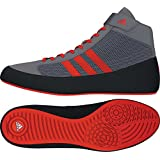 adidas Hvc 2 K Youth Grey/Solar Red Wrestling Shoes 1