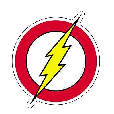 C&D Visionary DC Comic Originals Flash Logo Sticker: Toys & Games