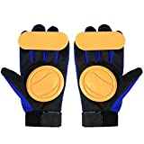 Andux Land Adult Freeride Grip Slid Skateboard Gloves Foam Palm HBST-02