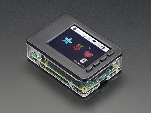 Adafruit Pi Model B+ / Pi 2 / Pi 3 - Case Base and Faceplate Pack - Clear [ADA3062]