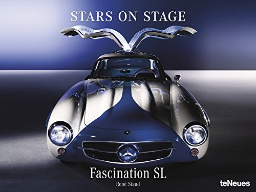 Stars on Stage - immerwährender Autokalender - 64 x 48 cm