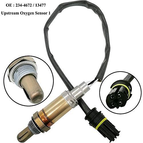 Automotive-leader 234-4672 Heated Universal O2 Sensor 13477 Upstream Oxygen Sensor 1 for 1995-2005 BMW 323i 325i 328i 330i 525i 540i 750iL Z3 M5