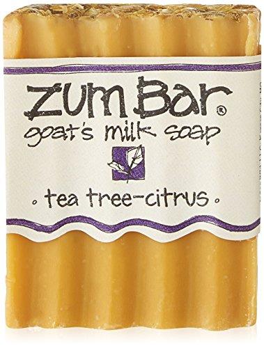 Indigo Wild: Zum Bar Goat's Milk Soap, Tea Tree & Citrus 3 oz