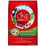 Purina ONE SmartBlend Lamb and Rice Formula Dry Dog Food, 14kg