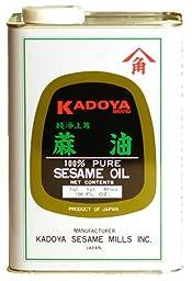 Kadoya Pure Sesame Oil - 56 oz.(Expedited shipping)