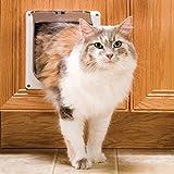 Pet Safe PetSafe Small 2-Way Locking Cat Door, White (CC10-050-11)
