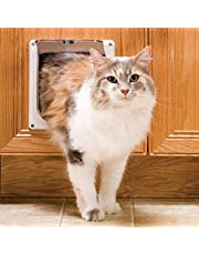 PetSafe 2-Way Interior Cat Door - Keeps Litter Box and Cat Food Hidden Away from Dog - Lock Pet Door to Control Access