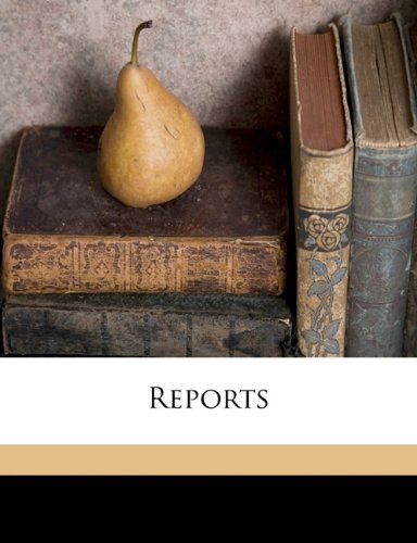 Download Reports Volume 2, Pt.1 pdf epub
